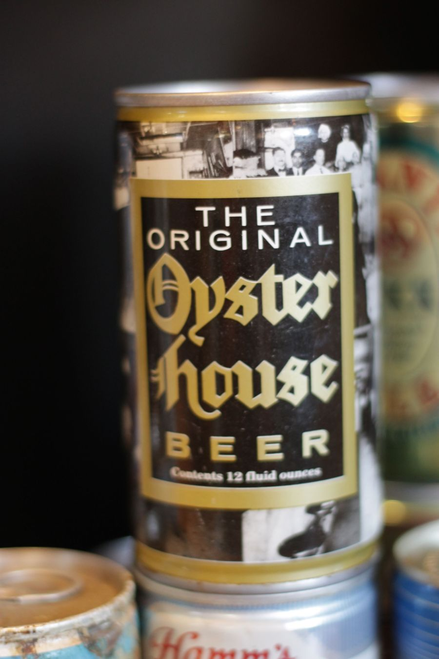 boston harpoon brewery beer can collection 9 oyster house ale