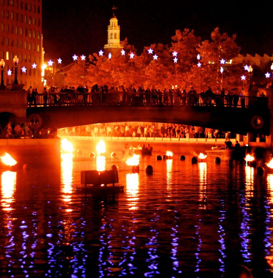 rhode island providence rhode island water fire festival 11