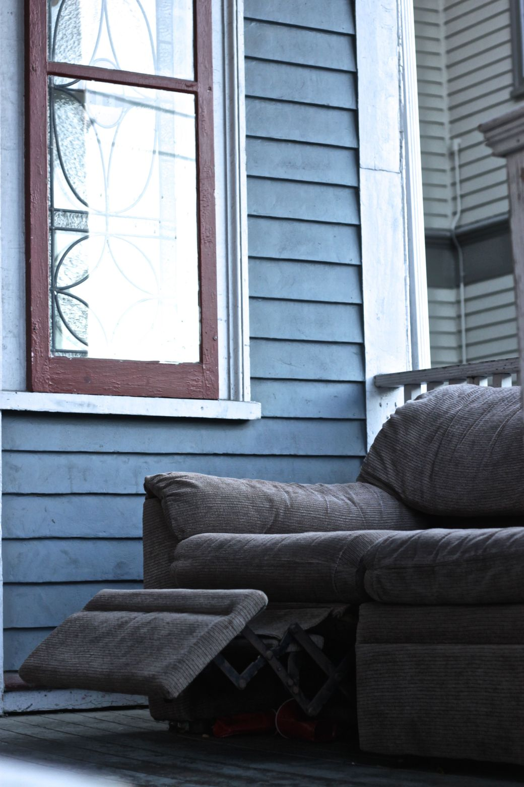rhode island providence college hill chair on porch