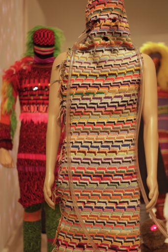 rhode island providence rhode island RISD museum knitted dress