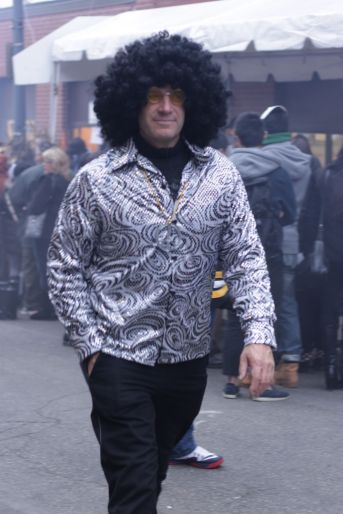 salem halloween october 31 2014 1960s man with afro