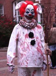 salem halloween october 31 2014 bloody horned clown