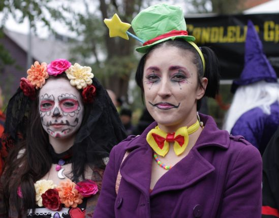 salem halloween october 31 2014 day of the dead faces