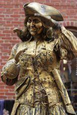 salem halloween october 31 2014 gold woman