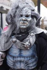 salem halloween october 31 2014 horned mask