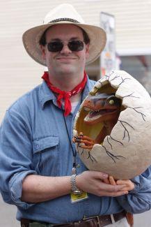 salem halloween october 31 2014 jurassic park dinosaur egg