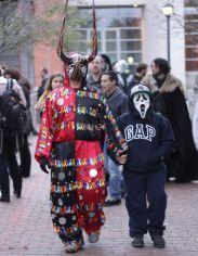 salem halloween october 31 2014 man with horns
