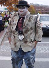 salem halloween october 31 2014 zombie man