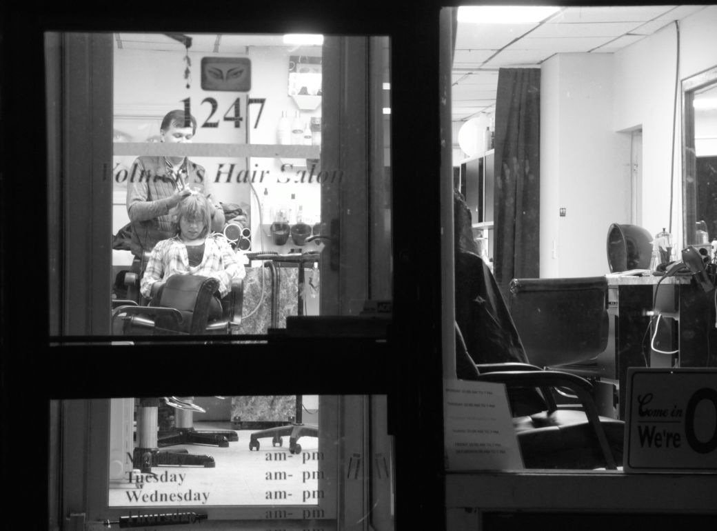 boston allston commonwealth avenue nighttime volmer's hair salon