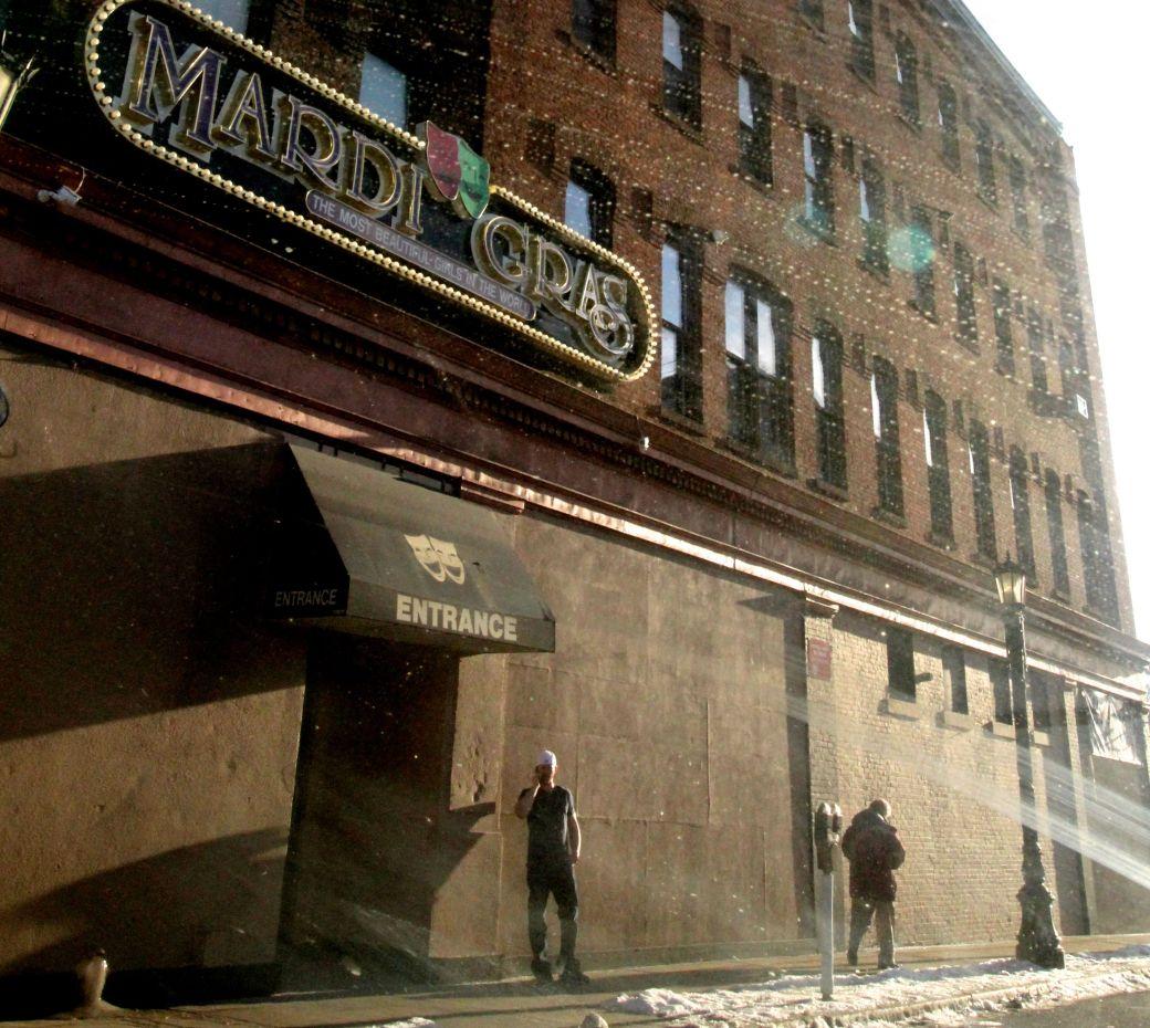 springfield downtown street shadows strip club