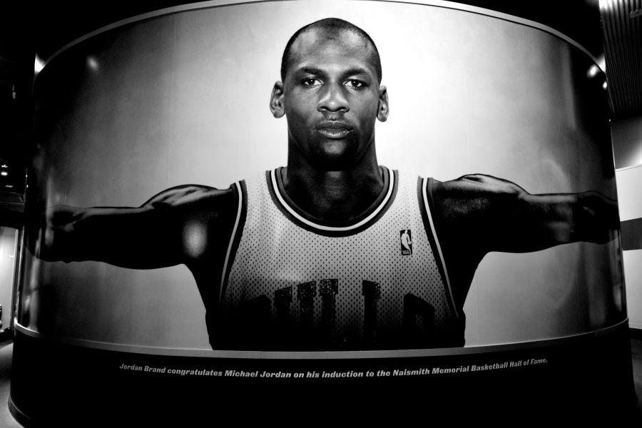 Springfield Naismith Memorial Basketball Hall of Fame michael jordan wingspan