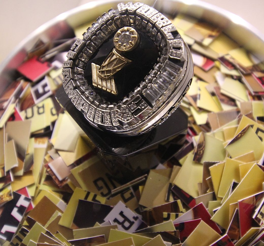 Springfield Naismith Memorial Basketball Hall of Fame NBA championship ring