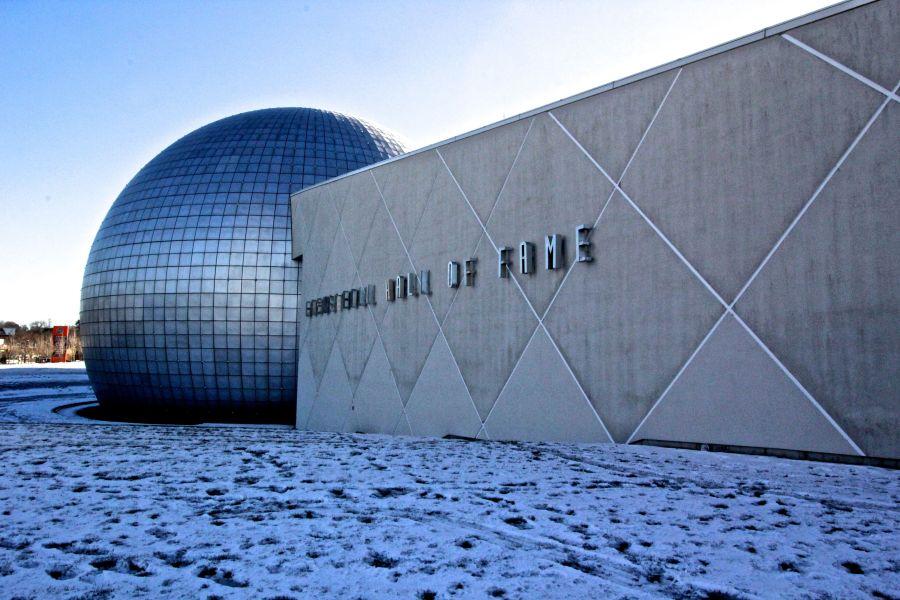 Springfield Naismith Memorial Basketball Hall of Fame outside