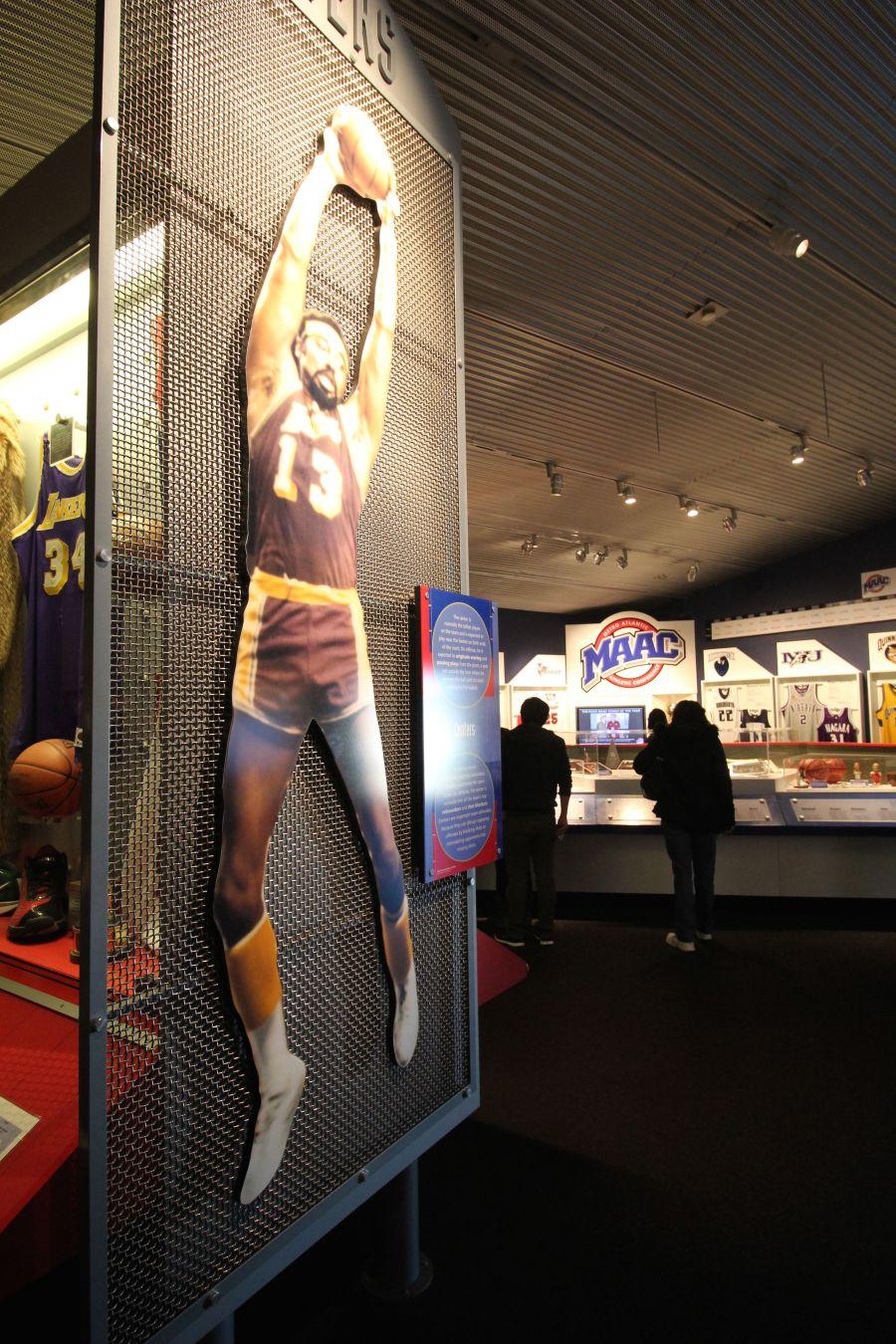 Springfield Naismith Memorial Basketball Hall of Fame walt frazier