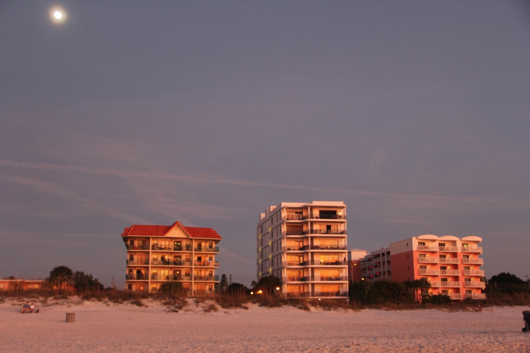 st pete's beach beach buildings