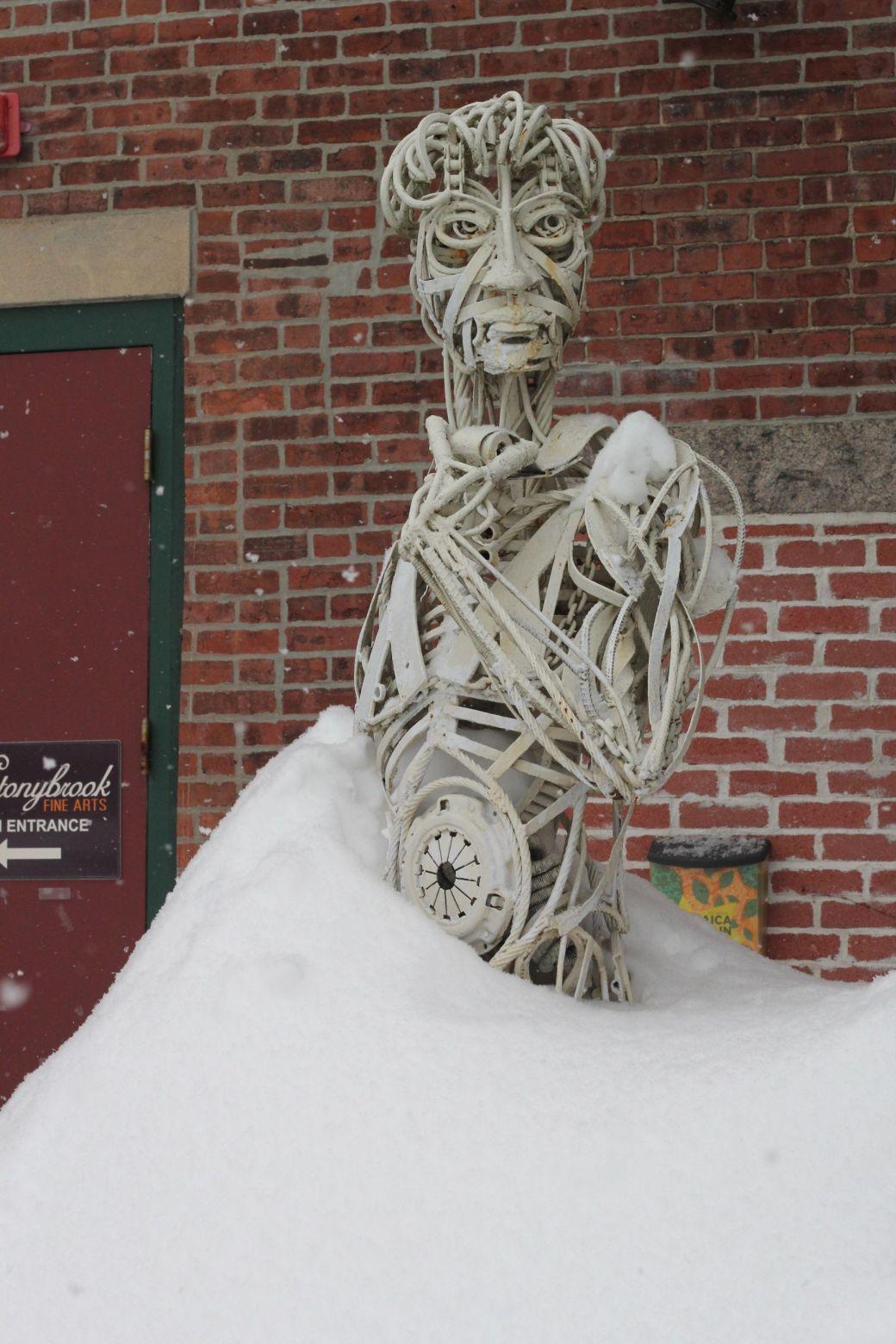 boston jamaica plain winter february 17 2015 david wires