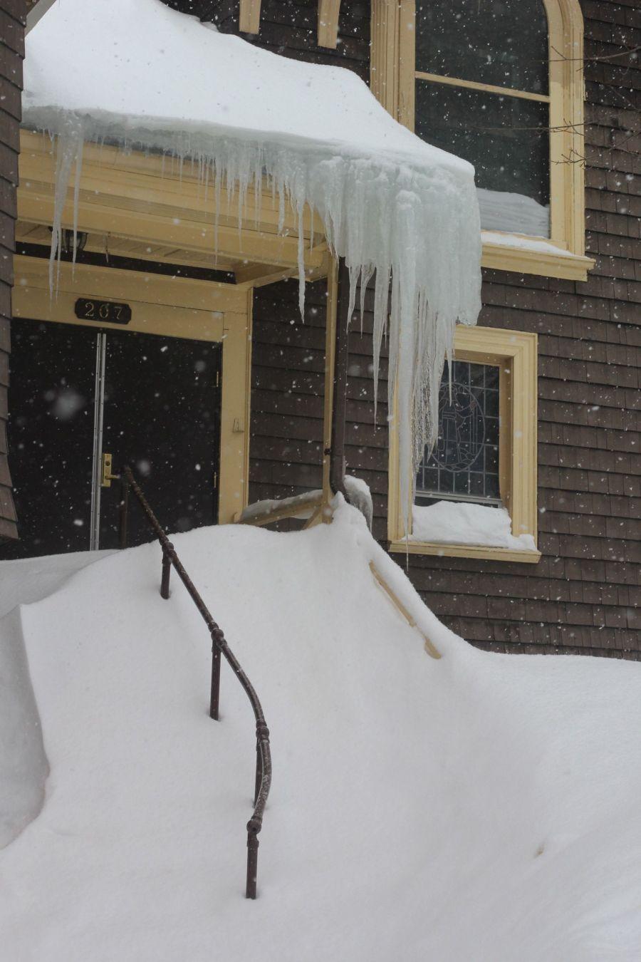 boston jamaica plain winter february 17 2015 icicles church 2