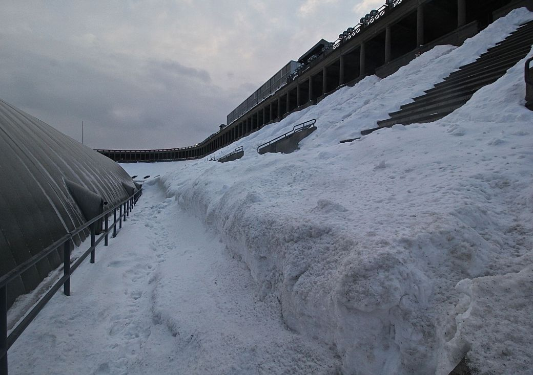 cambridge harvard harvard stadium snow february 19 2015 5