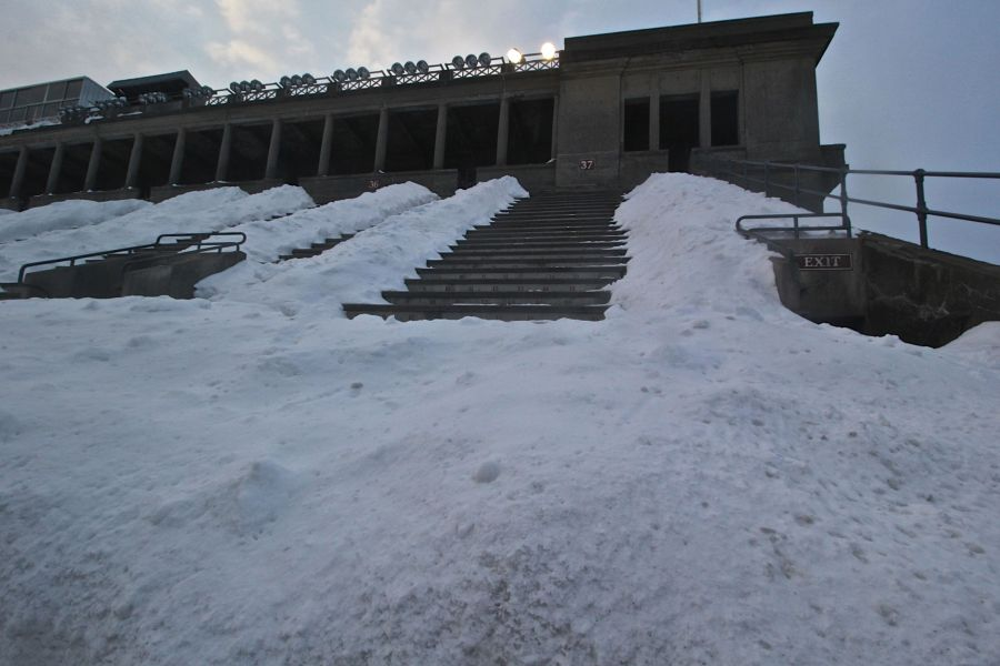 cambridge harvard harvard stadium snow february 19 2015 6
