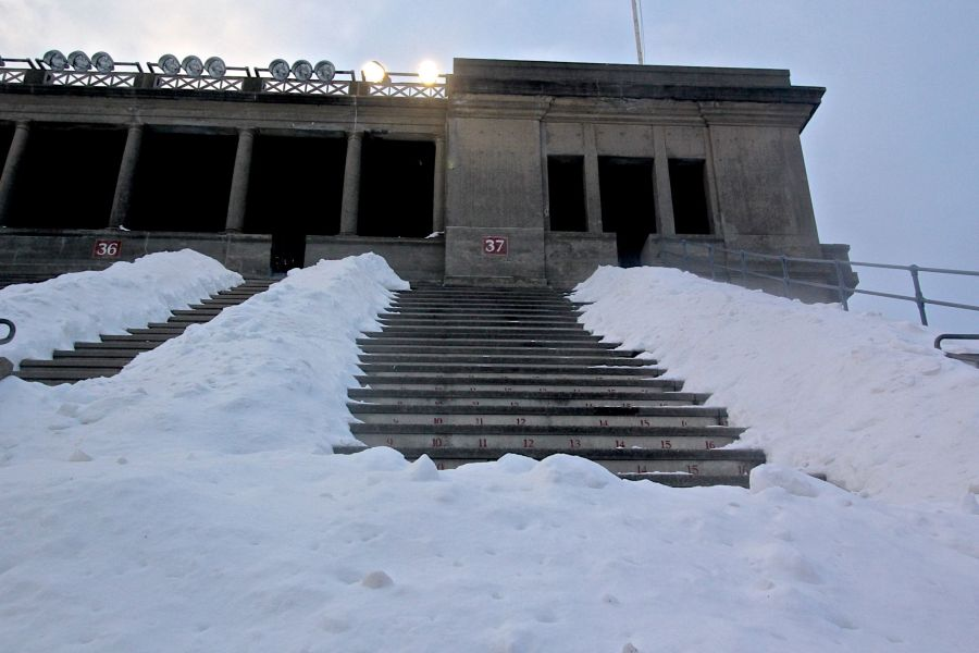 cambridge harvard harvard stadium snow february 19 2015 7