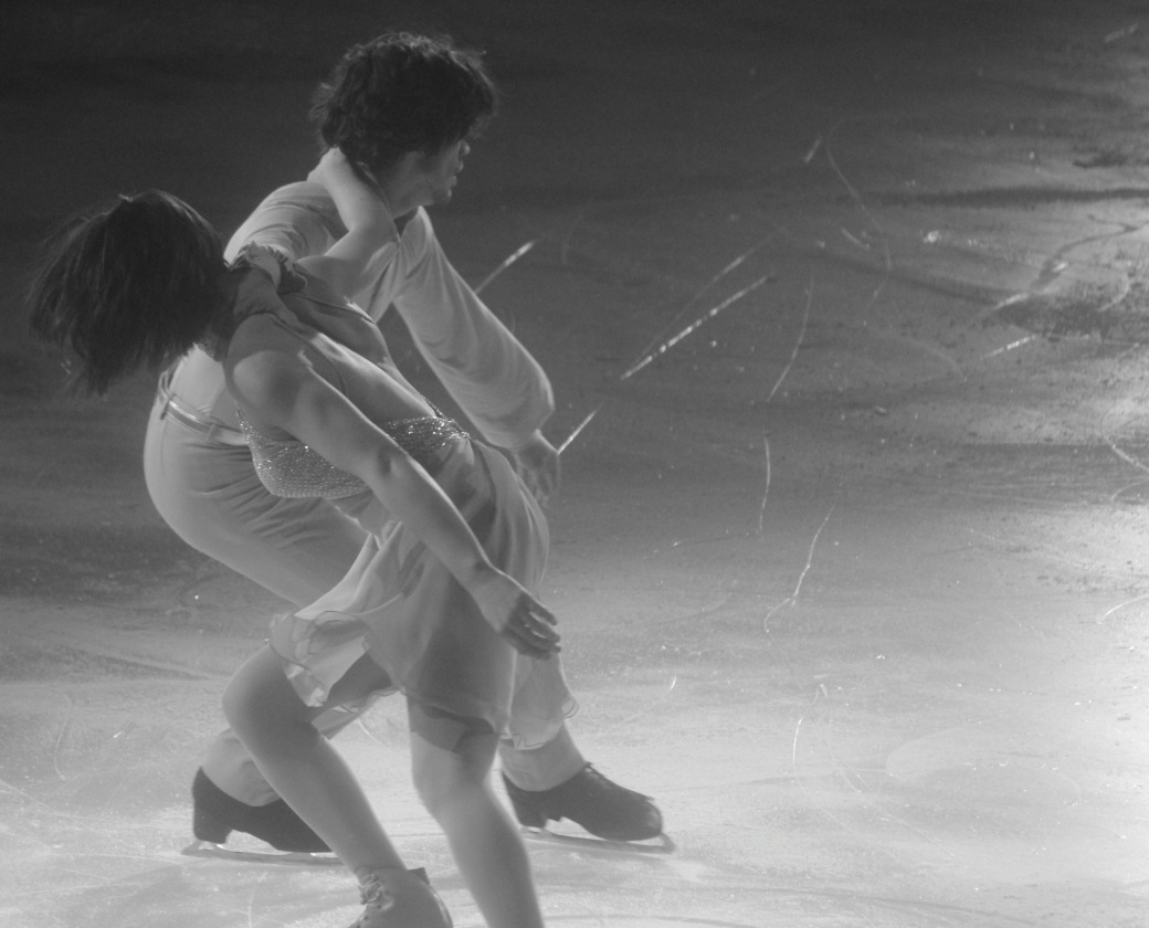 providence dunkin donuts center stars on ice march 14 2015 british couple black white