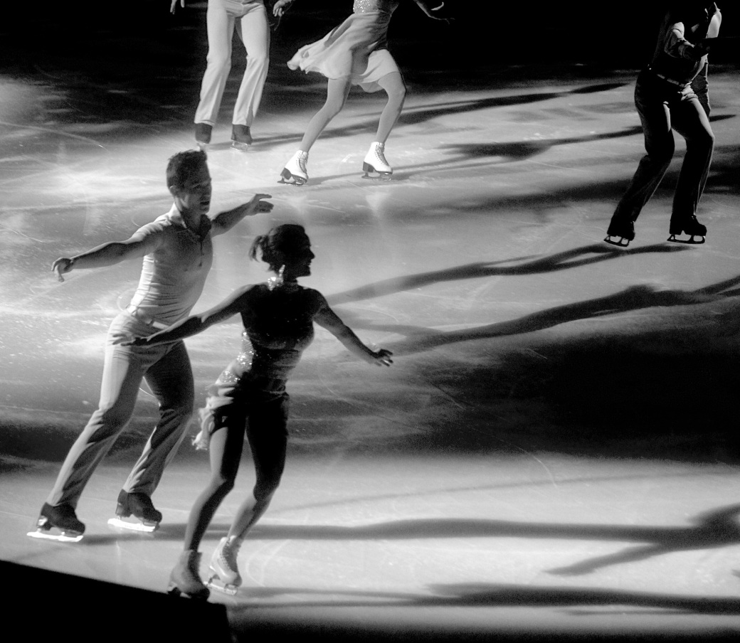 providence dunkin donuts center stars on ice march 14 2015 figure skater shadows