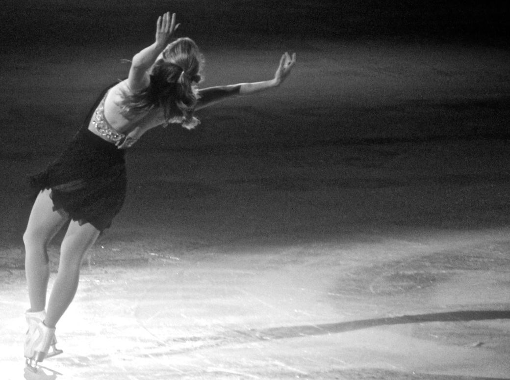 providence dunkin donuts center stars on ice march 14 2015 joannie rochette arch black white