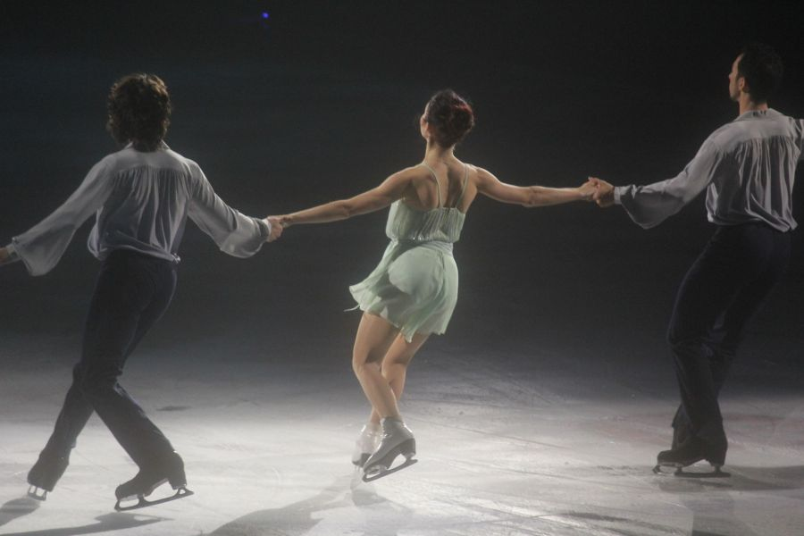 providence dunkin donuts center stars on ice march 14 skater trio