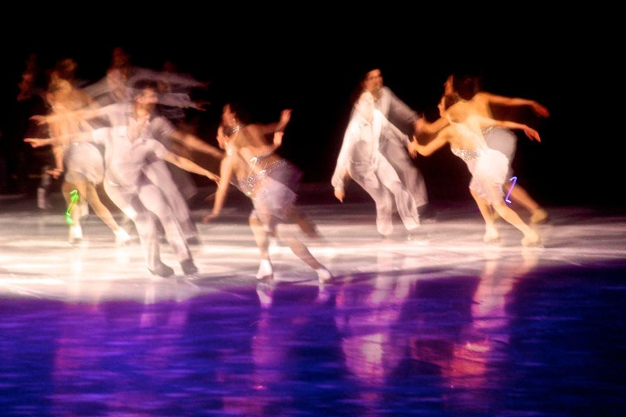 providence dunkin donuts center stars on ice march 14 synchronized skate number