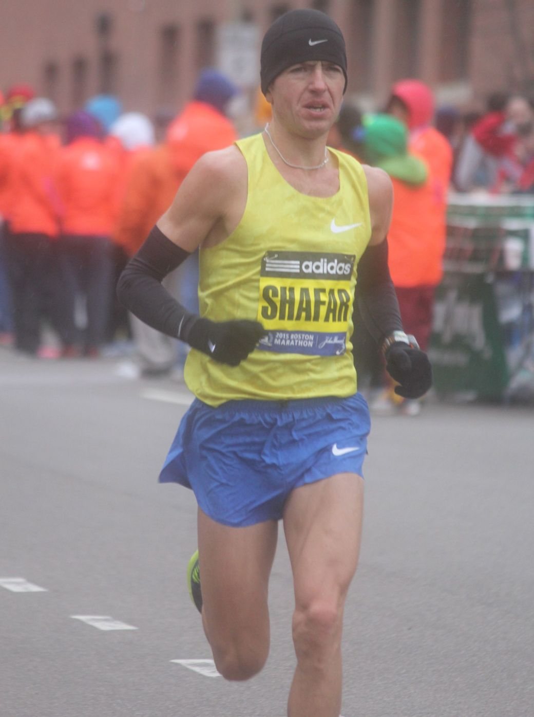 boston marathon april 20 2015 mens elite race vitaliy shafar