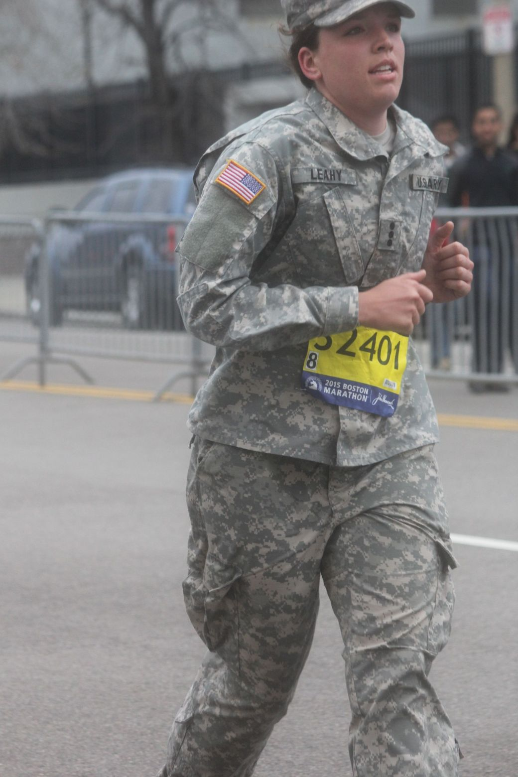 boston marathon april 20 2015 military runner number 32401
