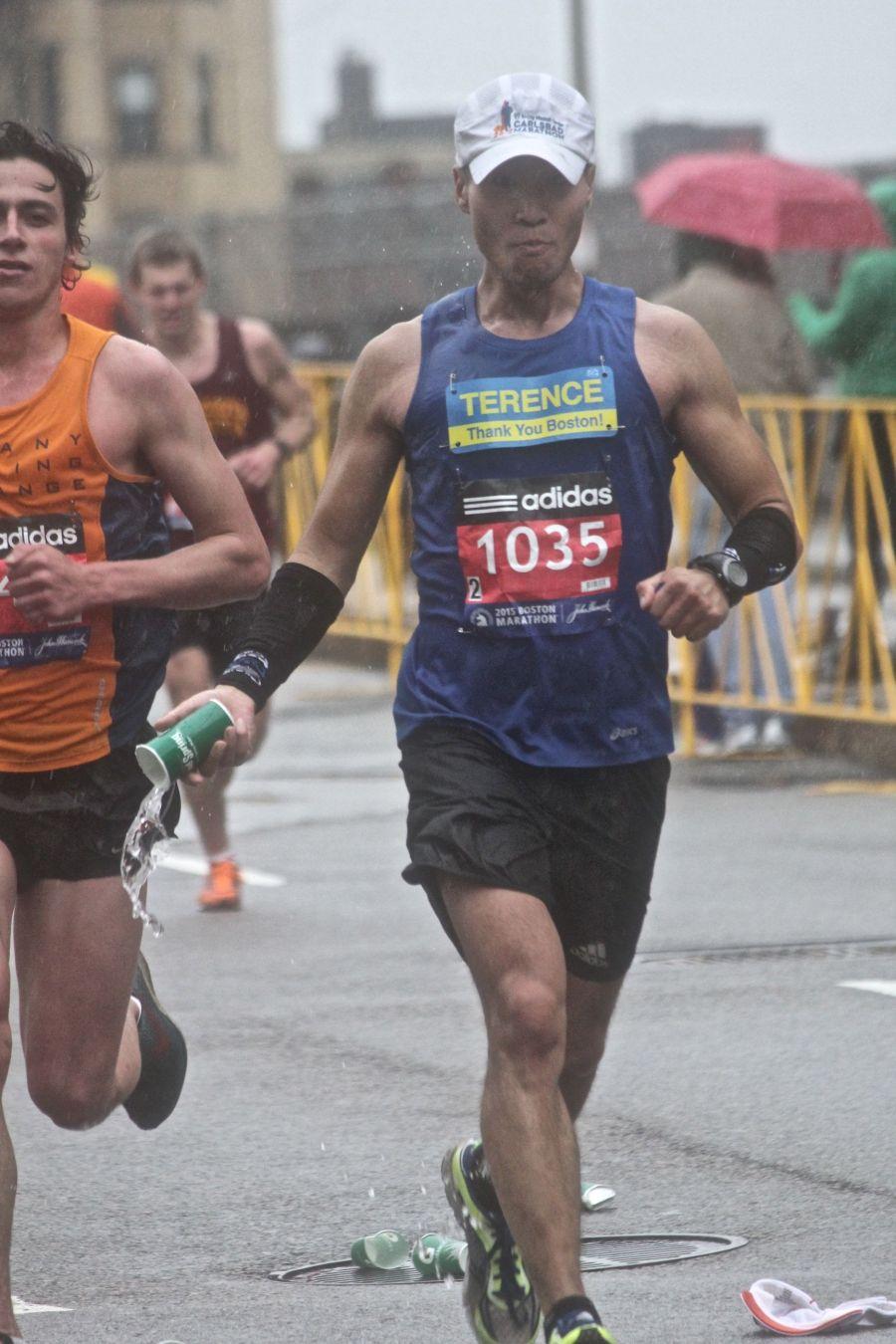 boston marathon april 20 2015 racer number 1035