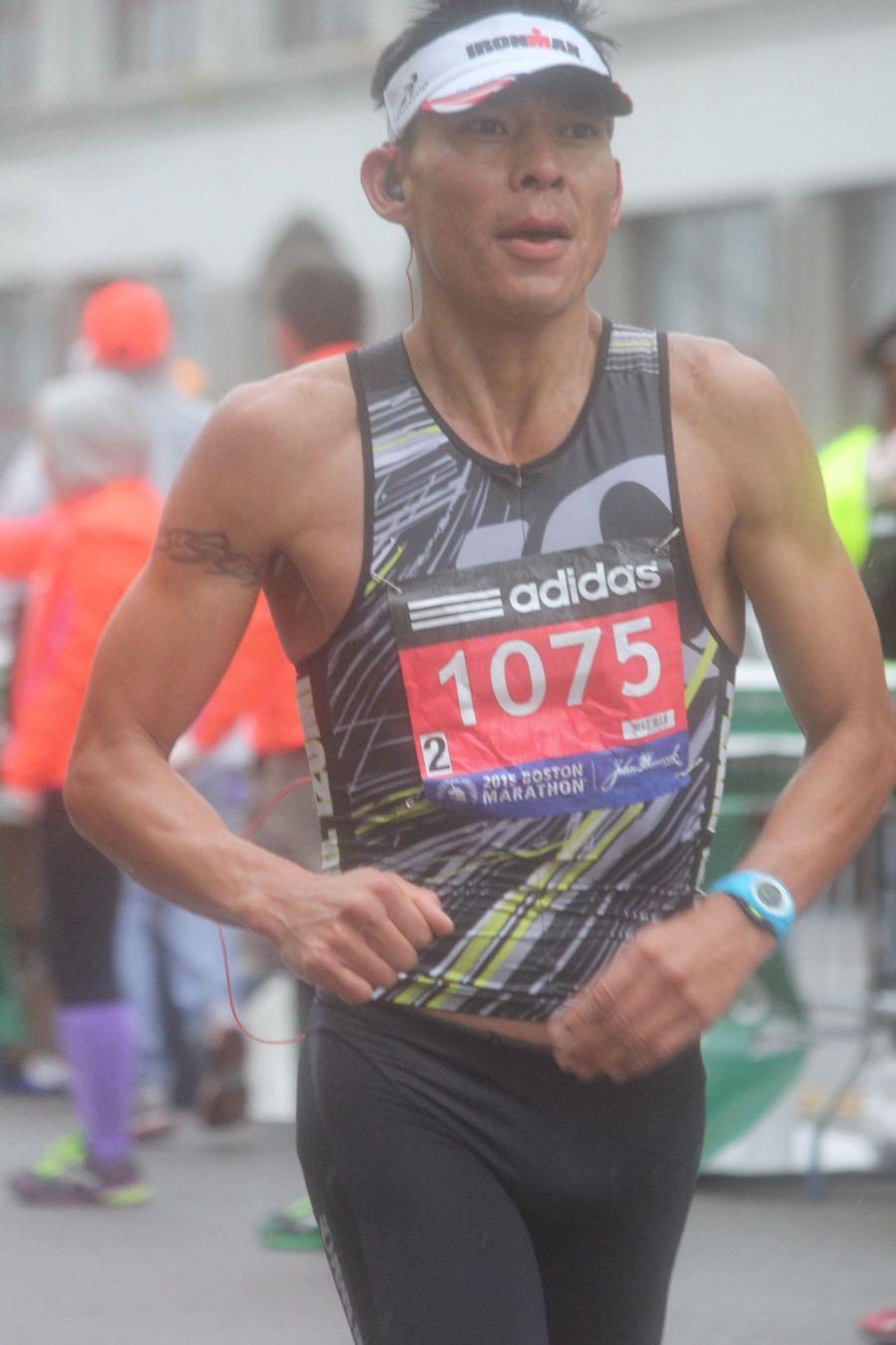 boston marathon april 20 2015 racer number 1075