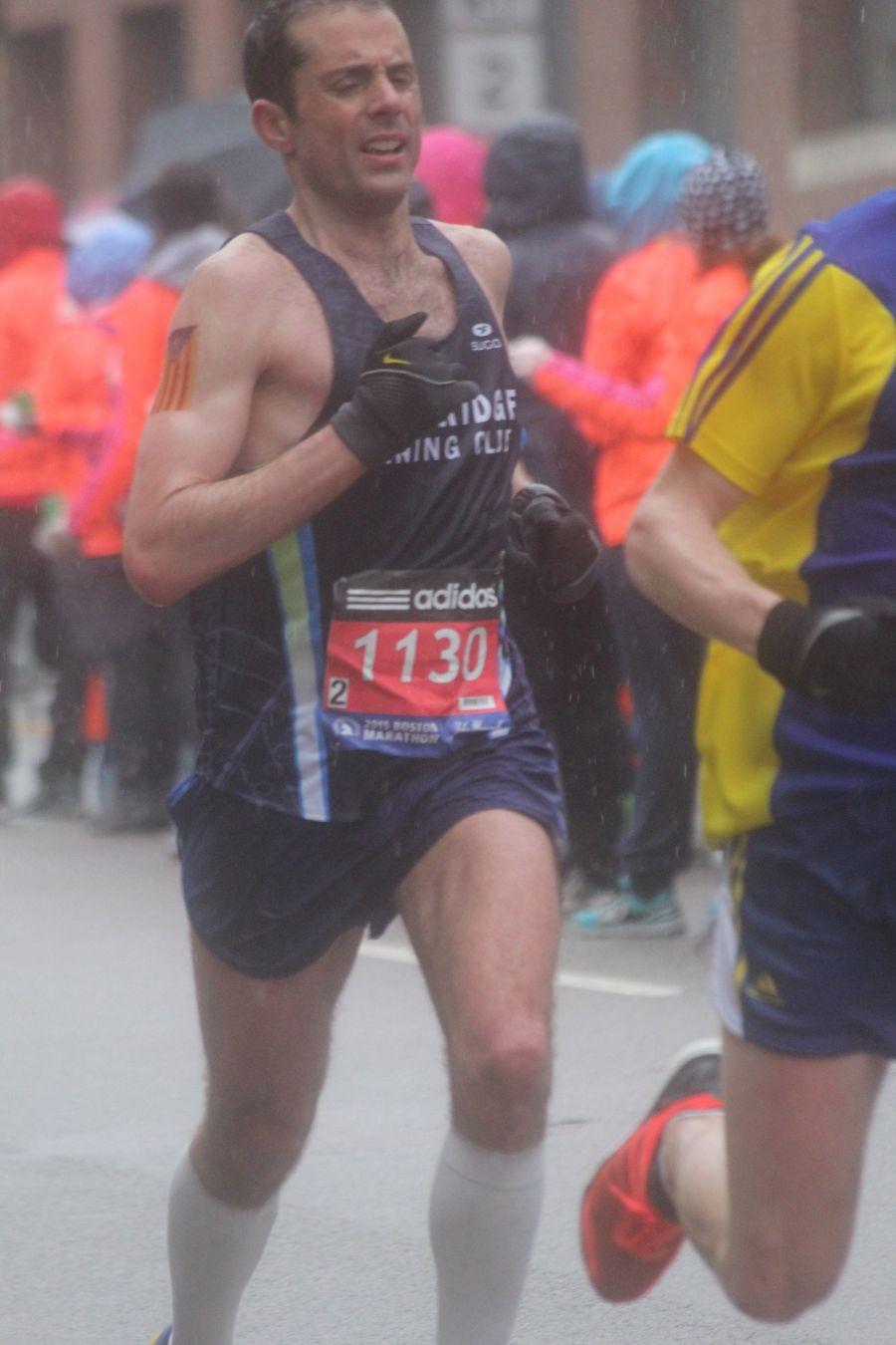boston marathon april 20 2015 racer number 1130