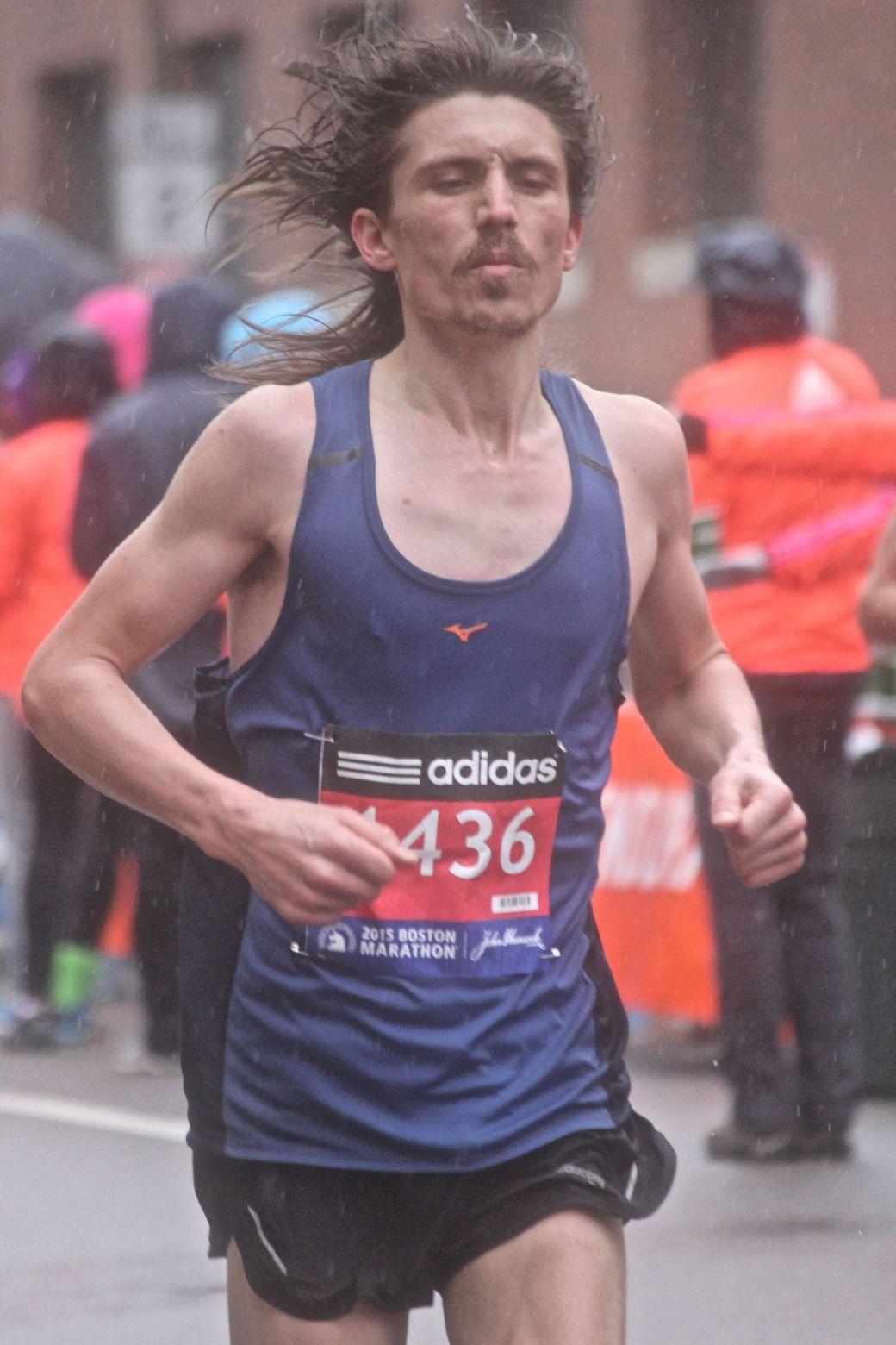 boston marathon april 20 2015 racer number 1436 2