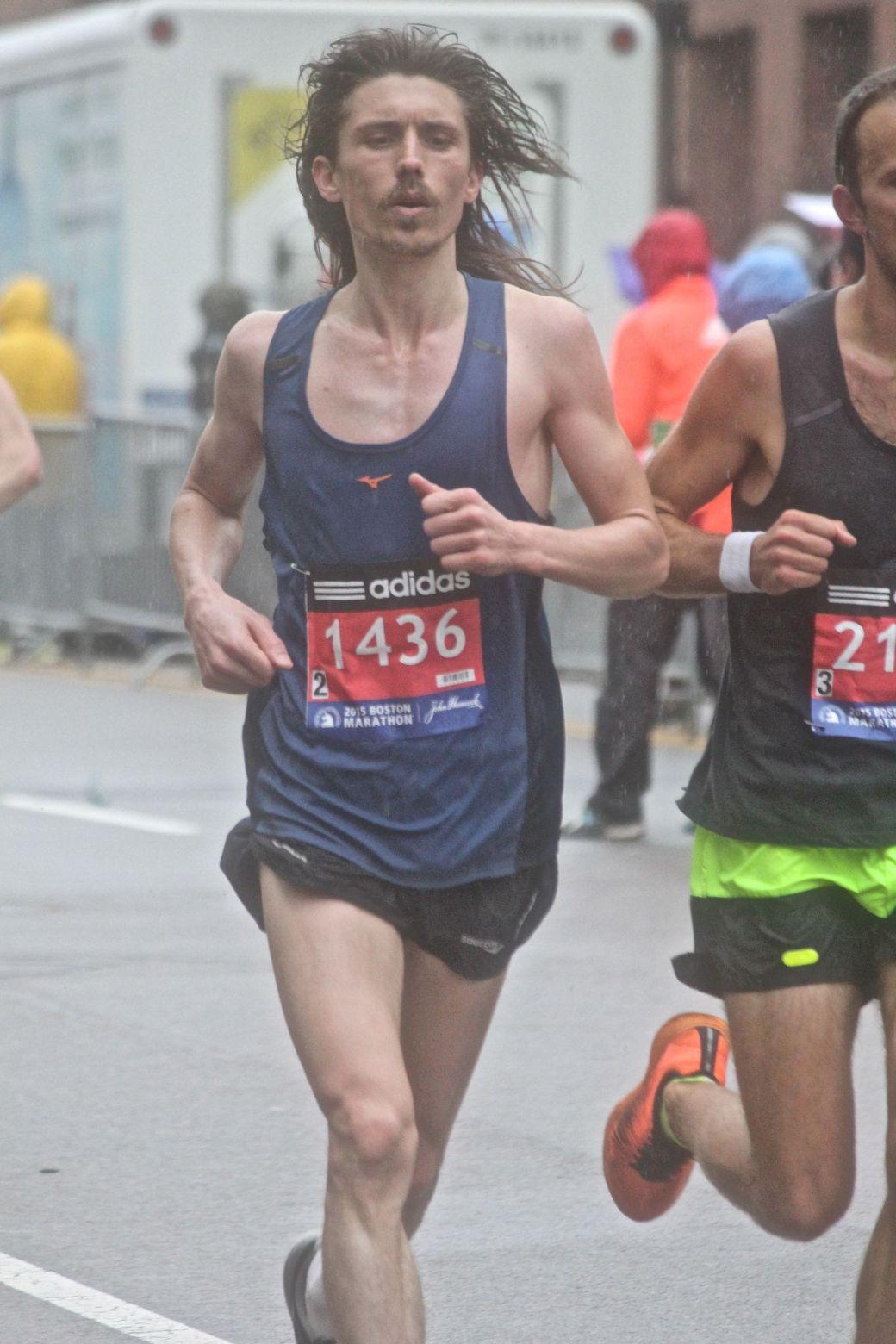 boston marathon april 20 2015 racer number 1436