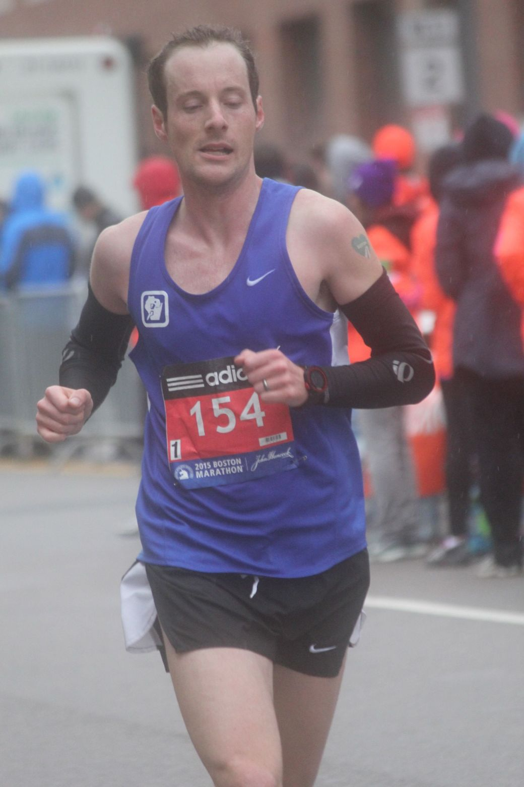 boston marathon april 20 2015 racer number 154