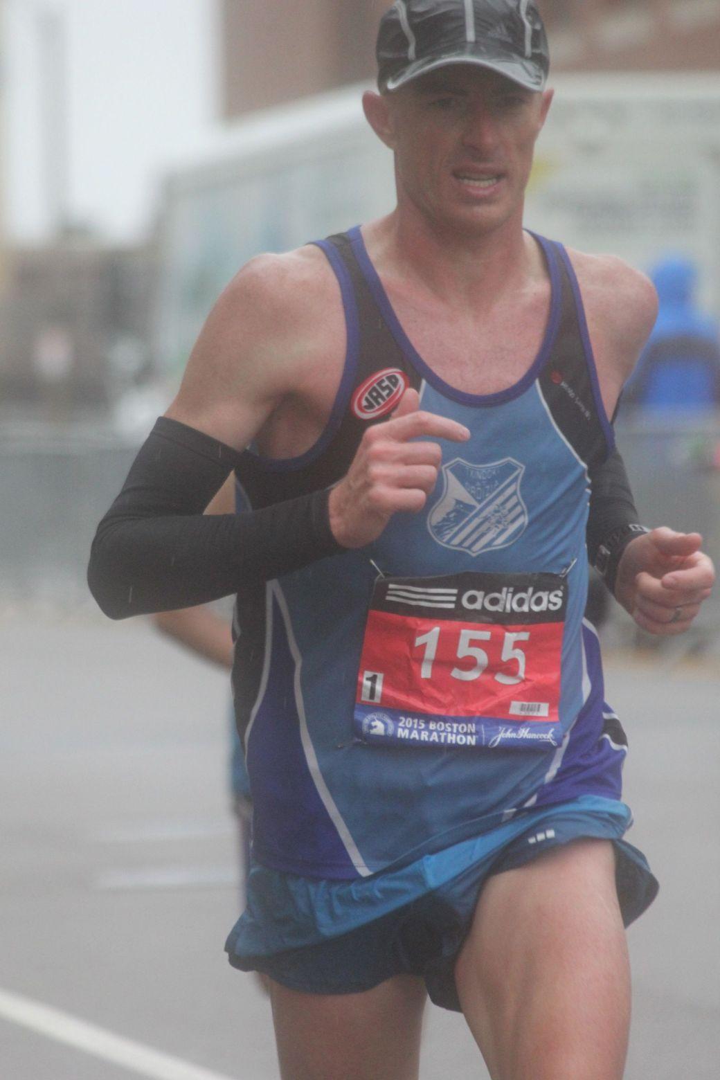 boston marathon april 20 2015 racer number 155 2