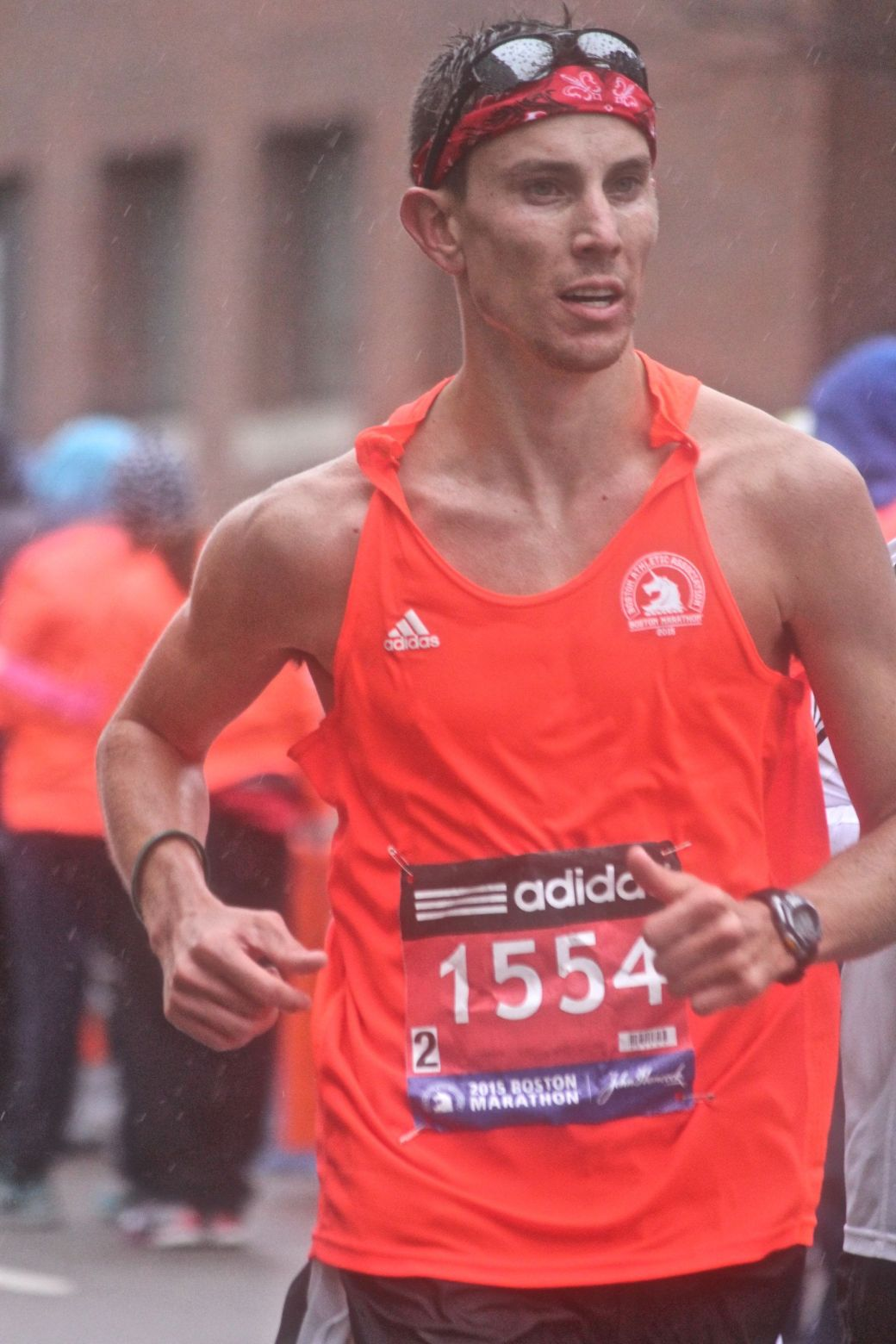 boston marathon april 20 2015 racer number 1554
