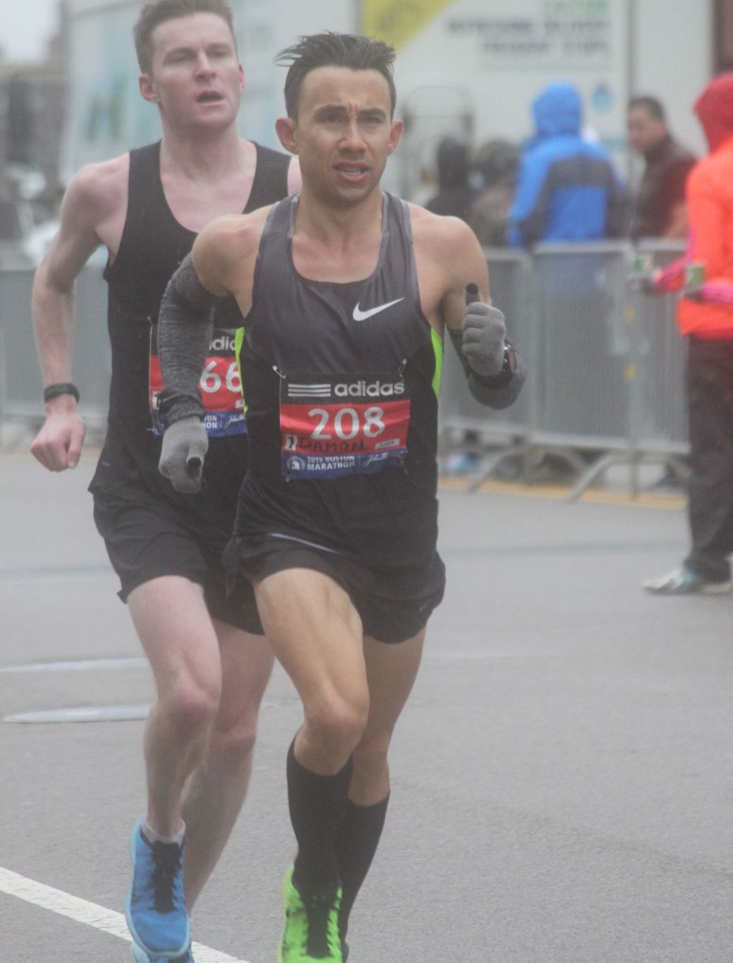 boston marathon april 20 2015 racer number 208