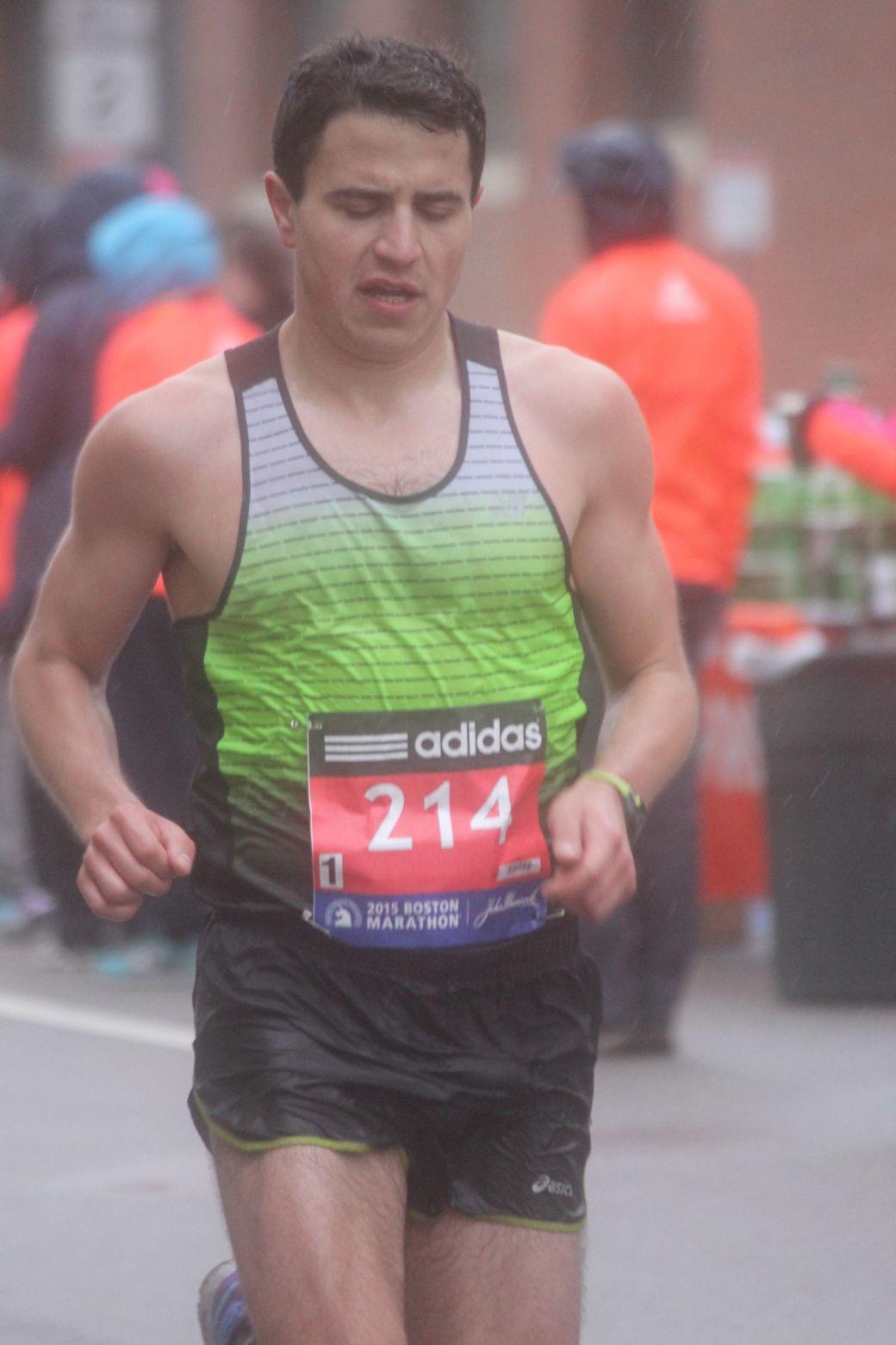 boston marathon april 20 2015 racer number 214