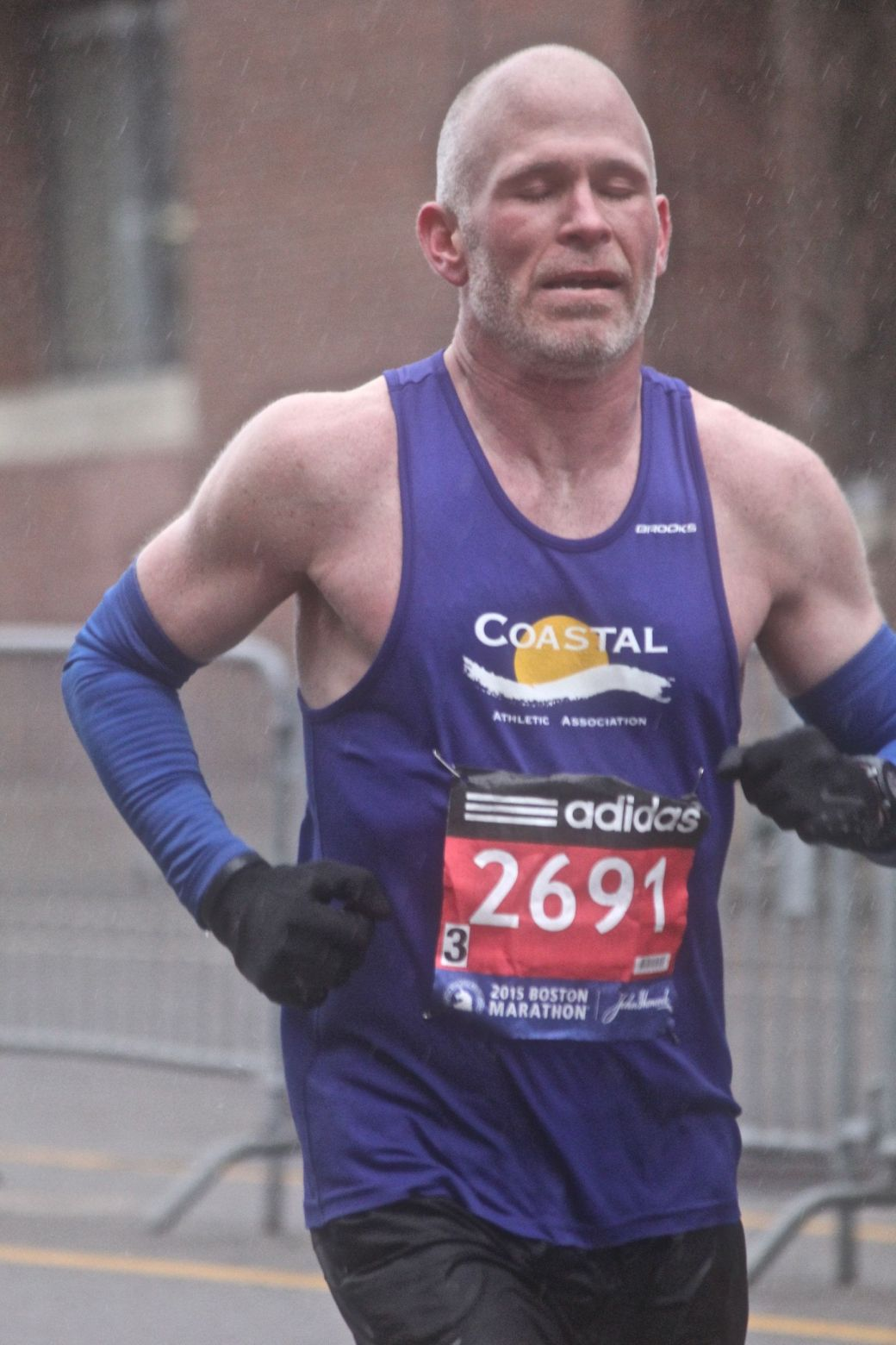 boston marathon april 20 2015 racer number 2691