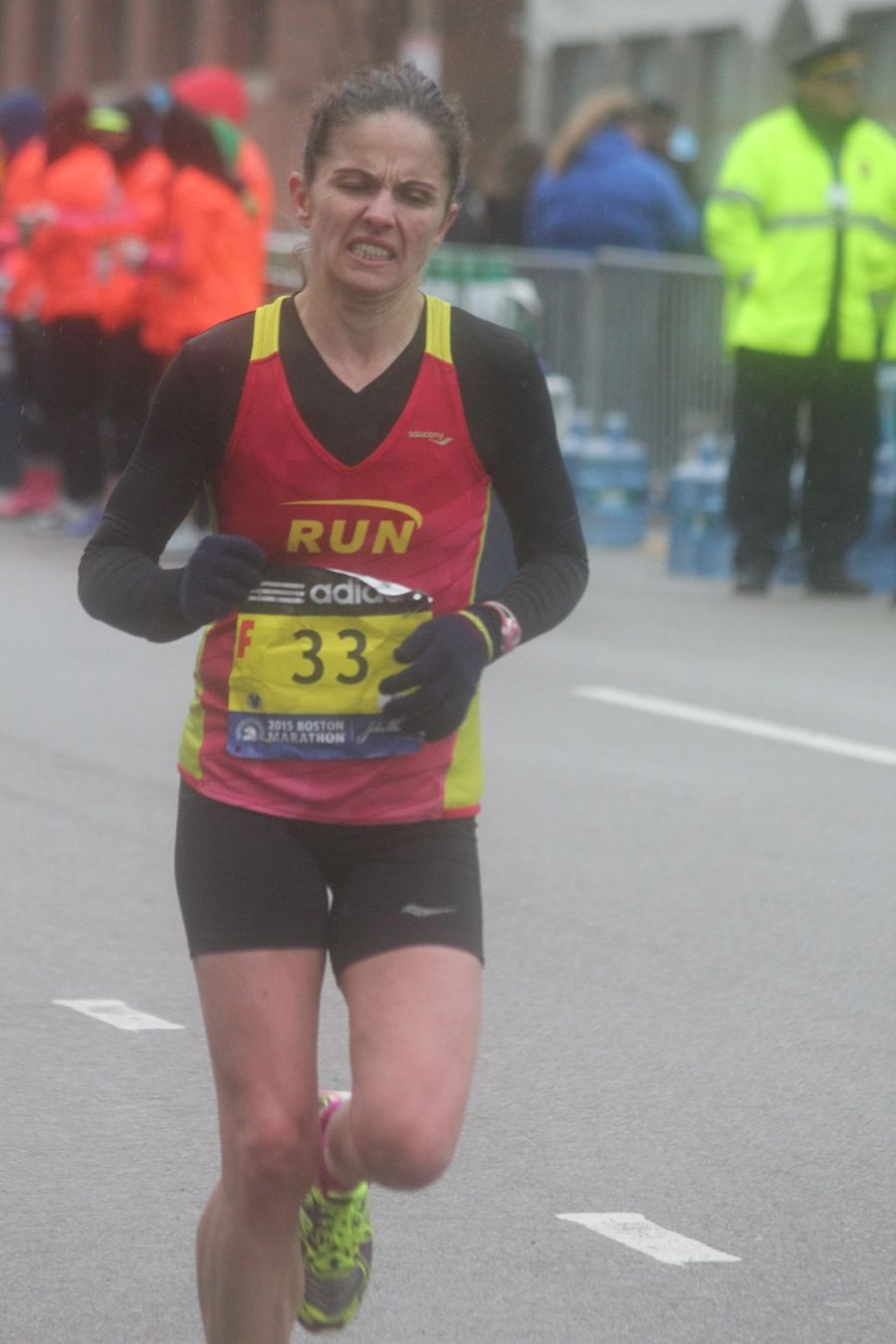 boston marathon april 20 2015 racer number 33