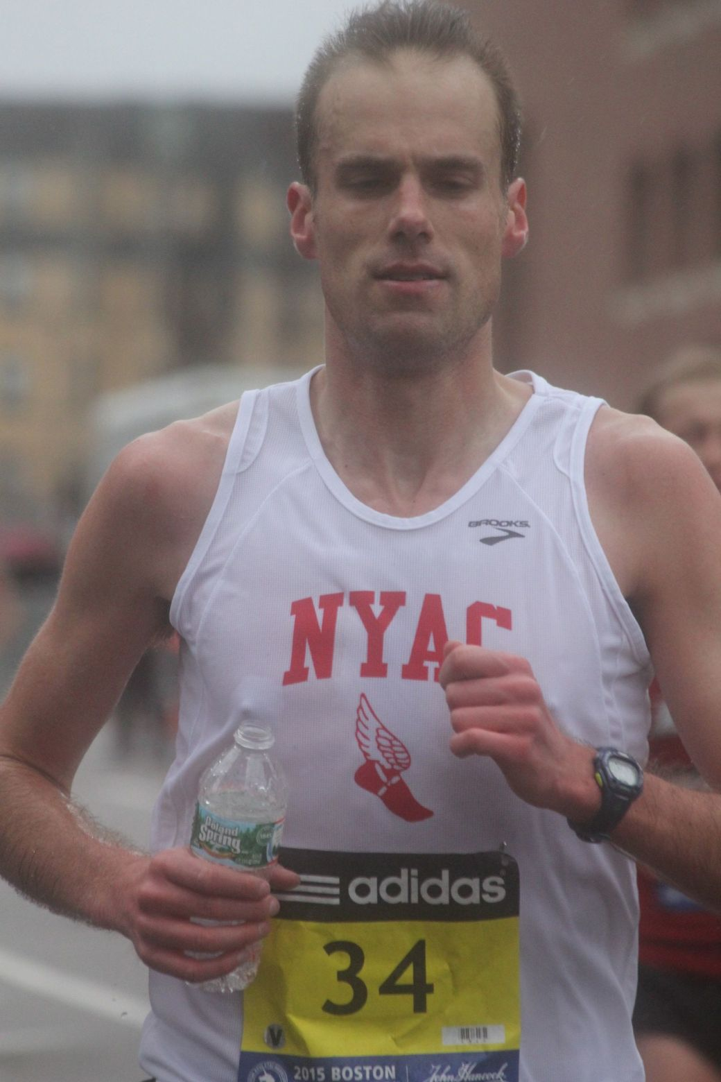 boston marathon april 20 2015 racer number 34 2