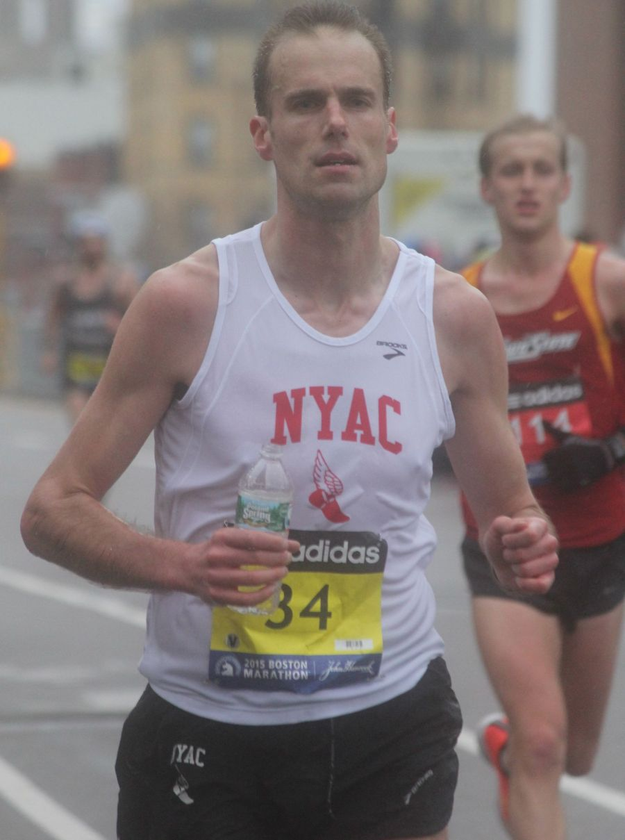 boston marathon april 20 2015 racer number 34