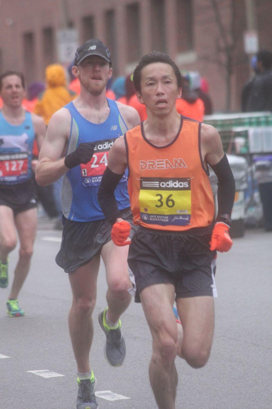 boston marathon april 20 2015 racer number 36