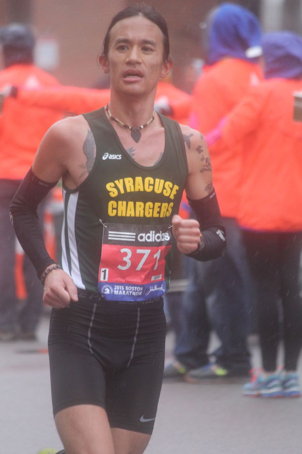 boston marathon april 20 2015 racer number 371