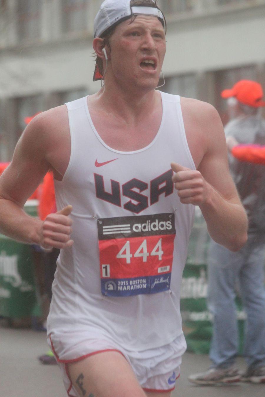 boston marathon april 20 2015 racer number 444