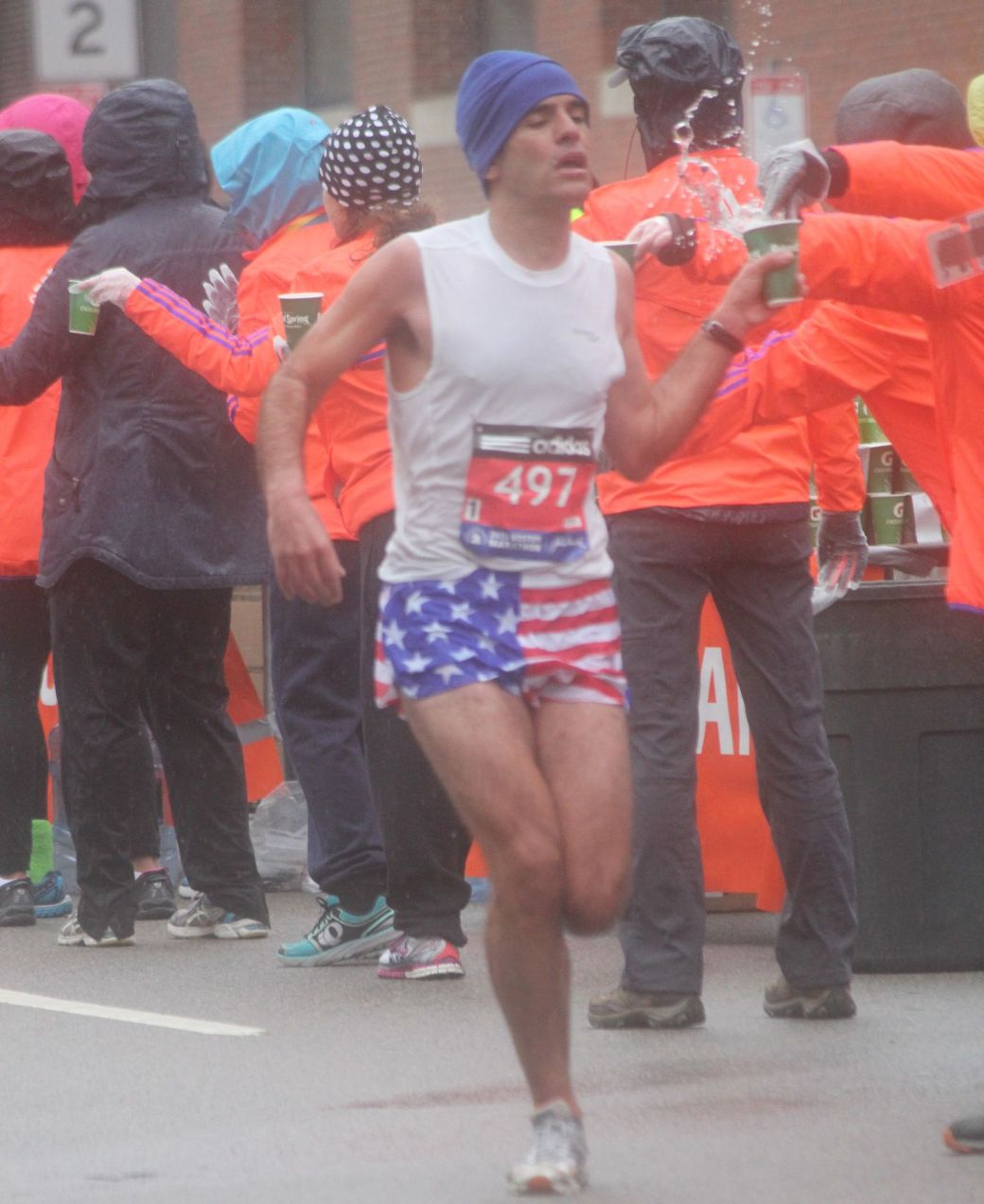 boston marathon april 20 2015 racer number 497
