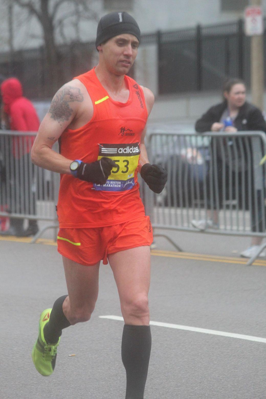 boston marathon april 20 2015 racer number 53